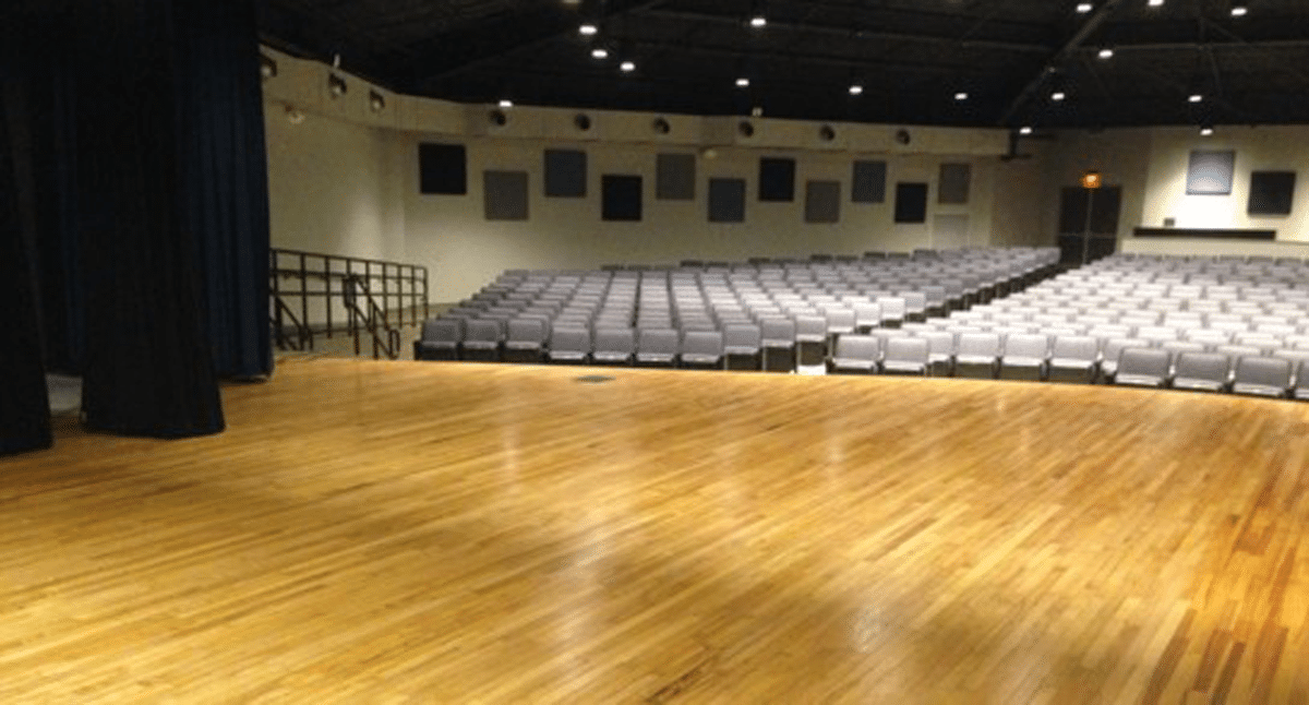 Edna Texas High School Auditorium