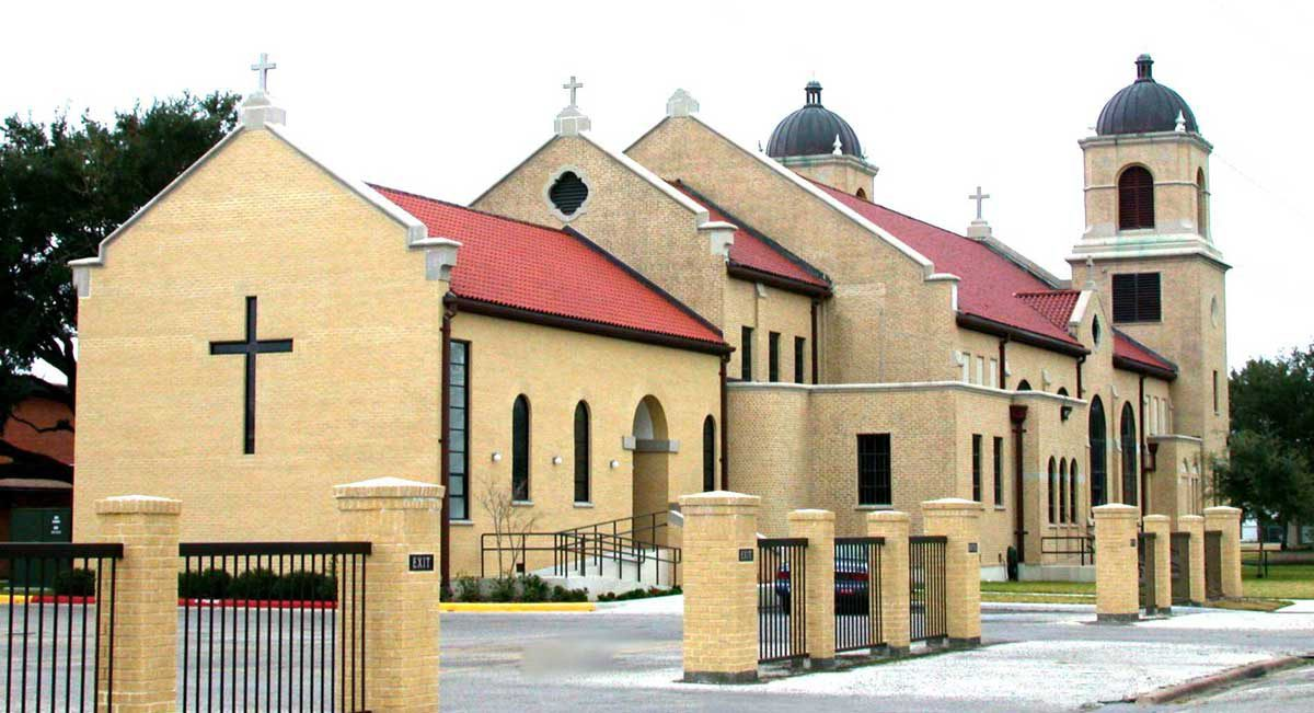 St Phillips Catholic Church side view